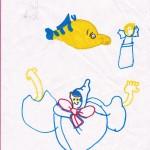 Fish, artwork by Lillian Boynton