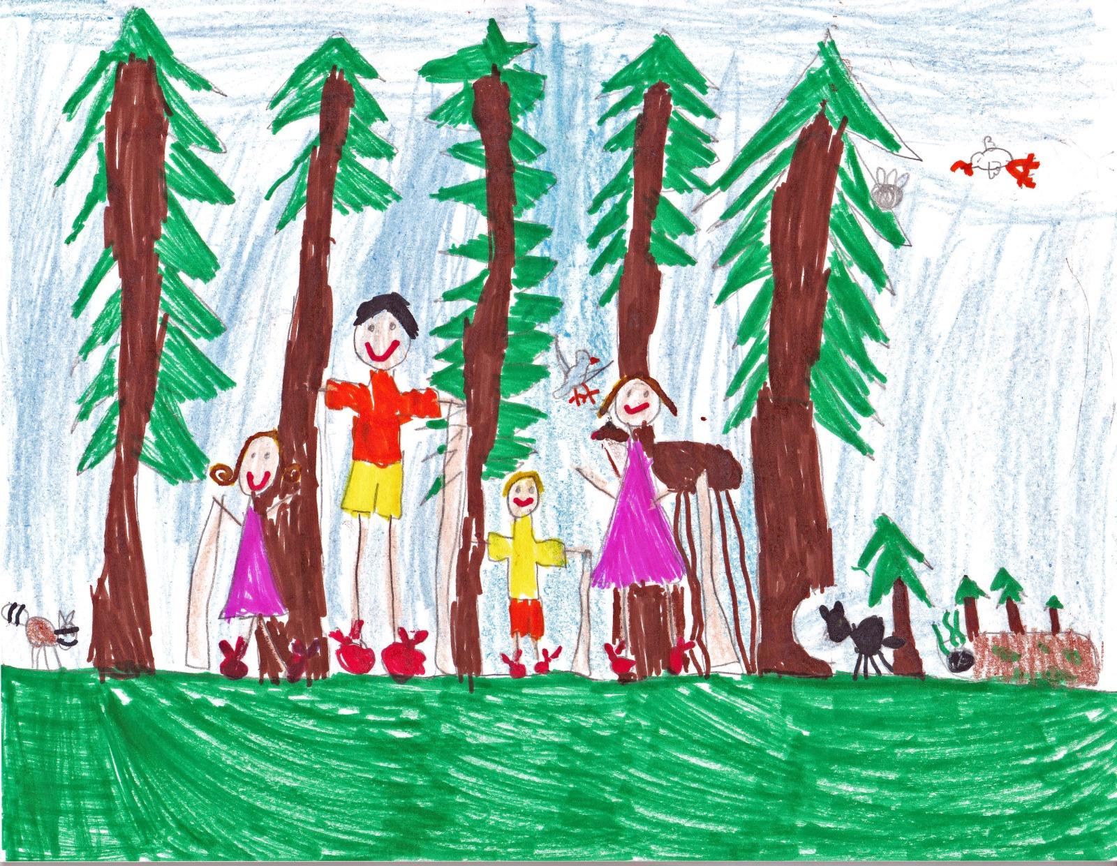 The Magic Tree House, artwork by Faith Hedin