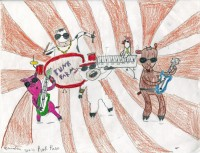 Punk Farm, artwork by Zandrea Thompson