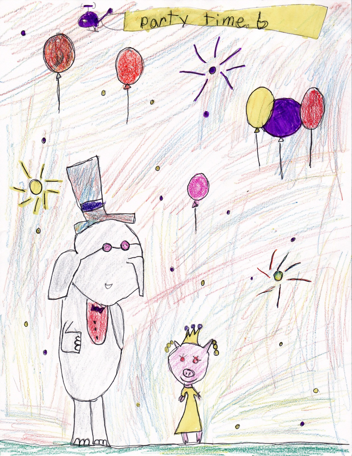 Party Time, artwork by Isabel Wiley