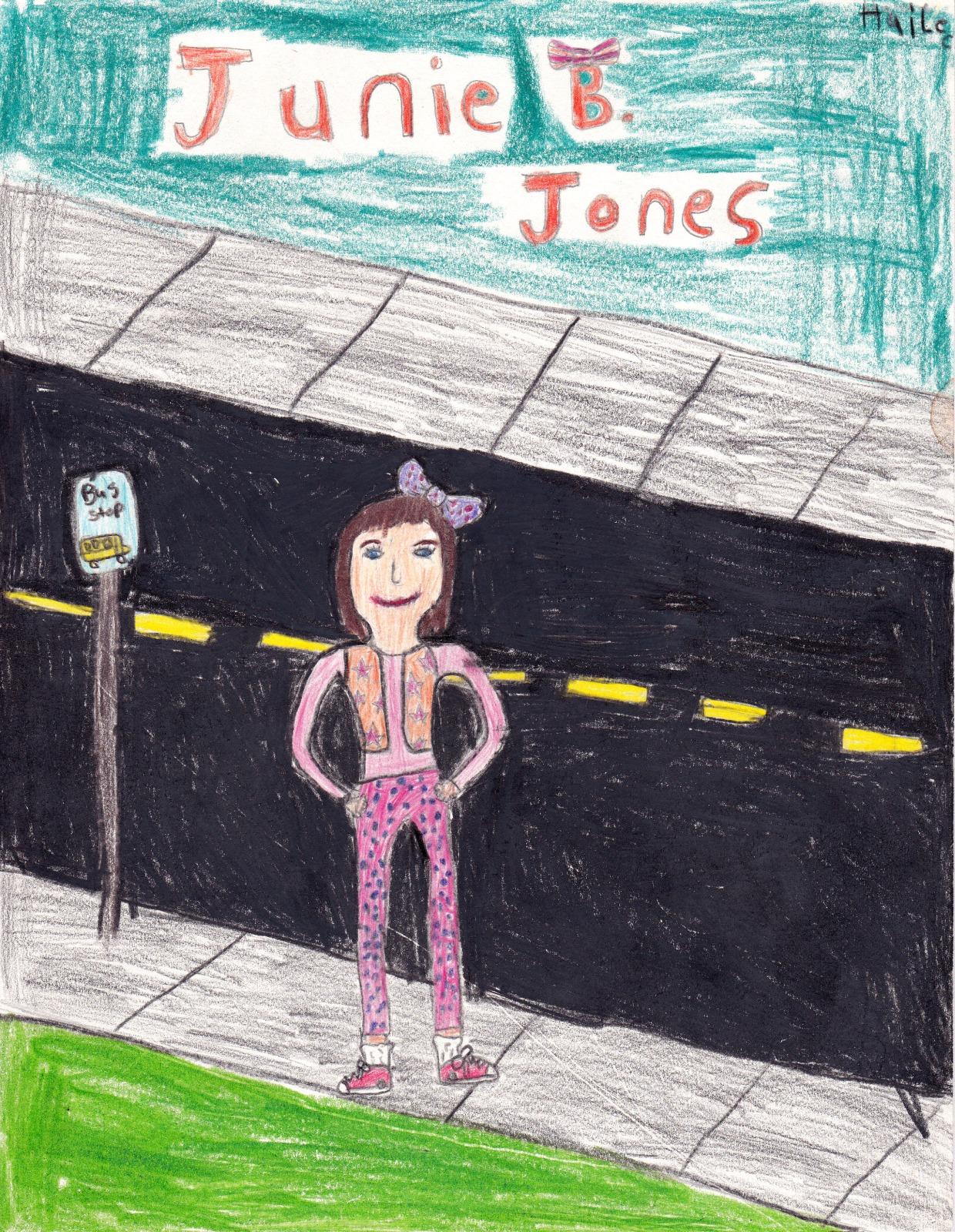 Junie B. Jones, artwork by Hailee Reynolds