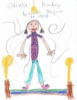 Olivia Kidney, artwork by Laelia Maynor
