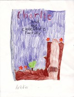 Charlie and the Chocolate Factory, artwork by Andrew Traina