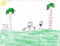 Rescue Princess, artwork by Kaylynn Dortch