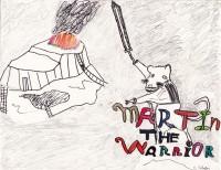Martin the Warrior, artwork by Malcolm Seemann