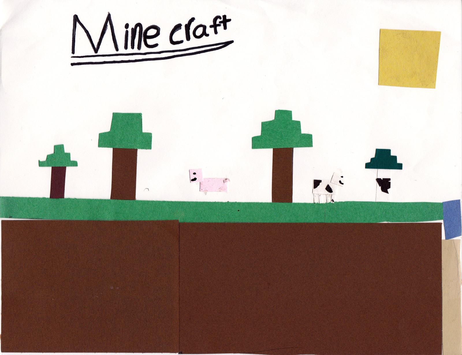 Mine Craft, artwork by Jesse Toland