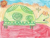 Tortuga, artwork by Mackenzie Bray