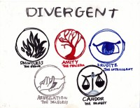Divergent, artwork by Sonja S. Kibbee