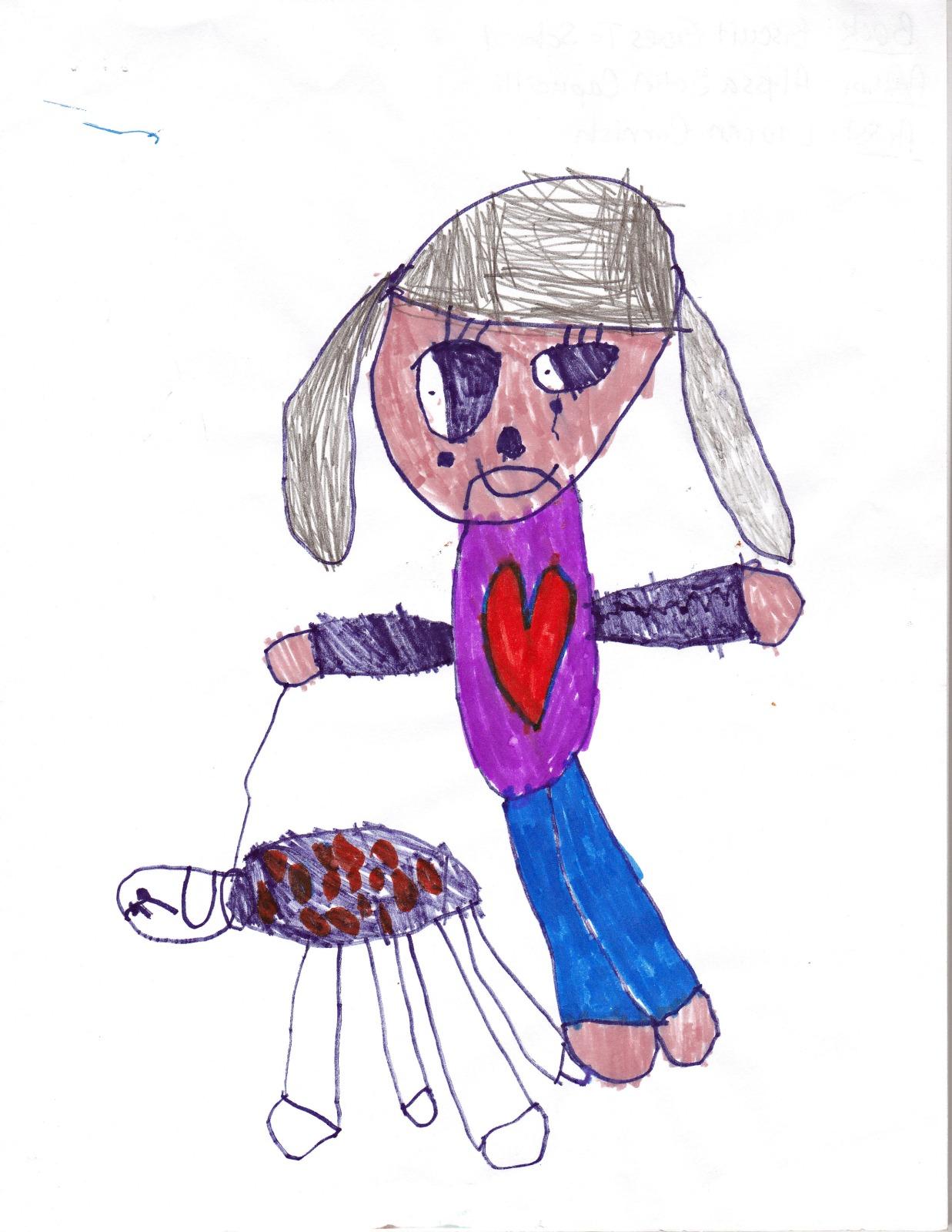 Biscuit Goes To School, artwork by Lauren Cornish