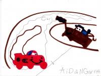 Cars, artwork by Aidan Garrett