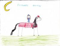Princess Ponies, artwork by Kaylynn Dortch
