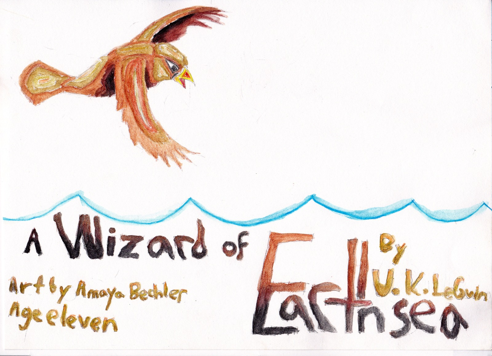 A Wizard of Earthsea, artwork by Amaya Bechler