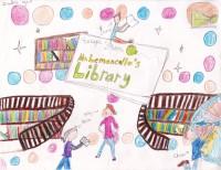 Escape From Mr. Lemoncello's Library, artwork by Zandrea Thompson