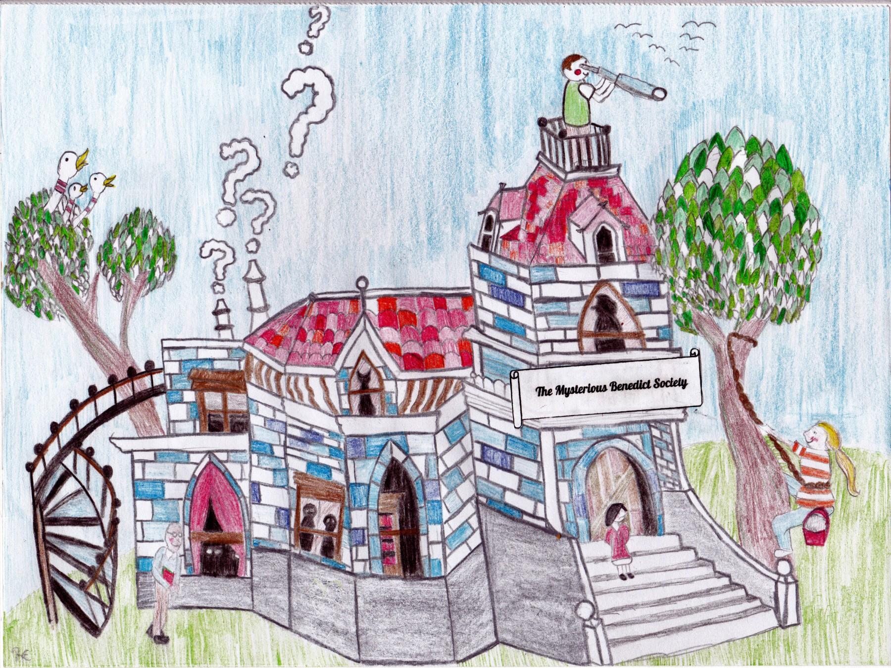 The Mysterious Benedict Society, by Raquel Edwards - Age 11
