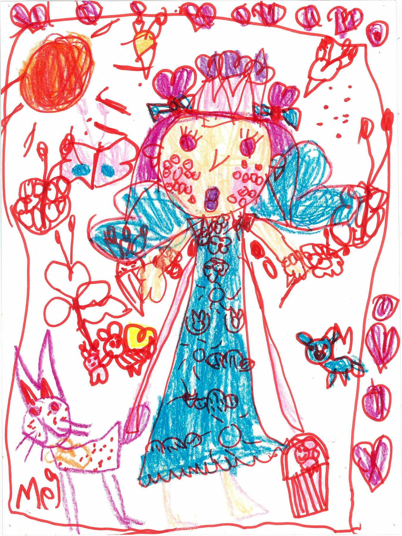 Butterfly Princess, by Meilin Storm - Age 6