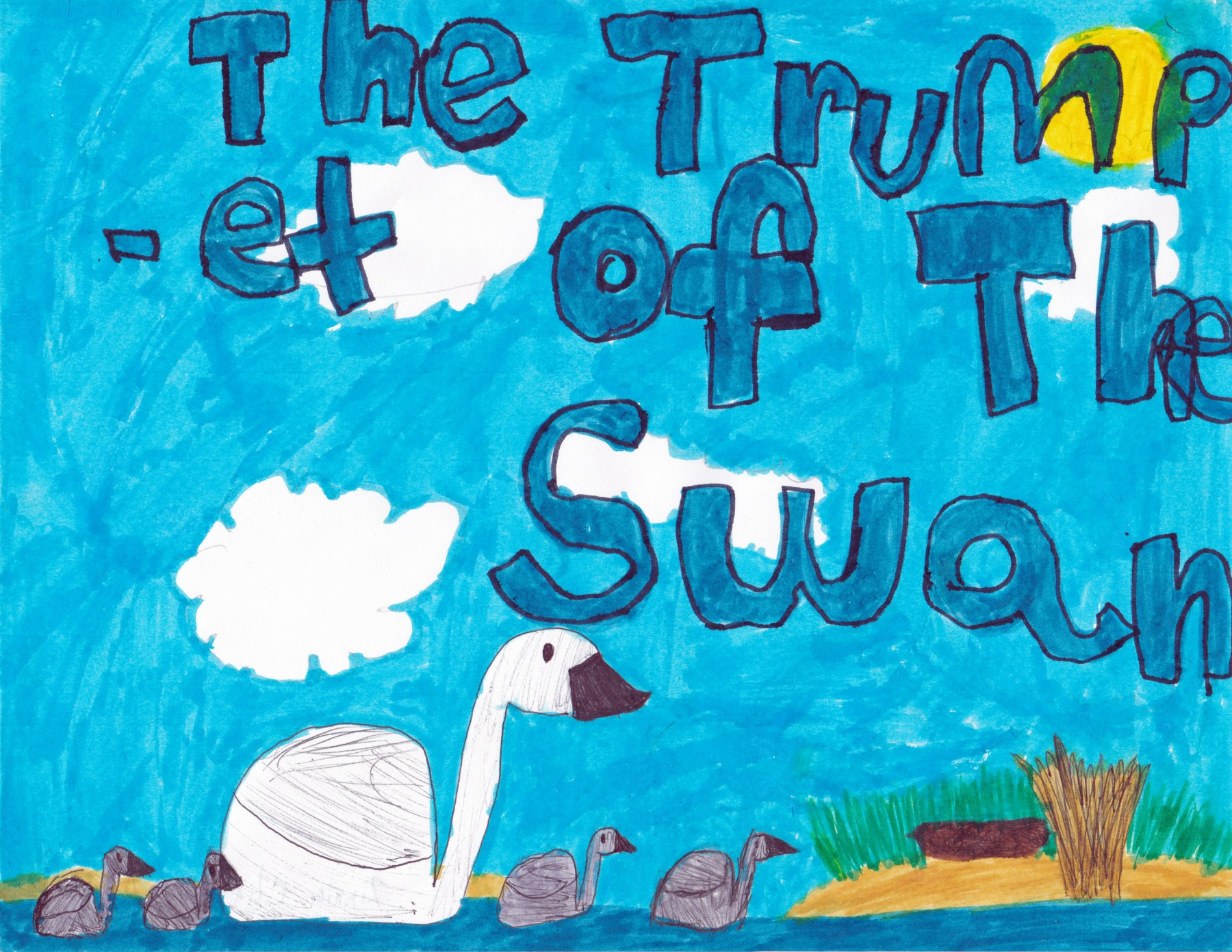 Trumpet of the Swan, by Zinnia Clifford - Age 7