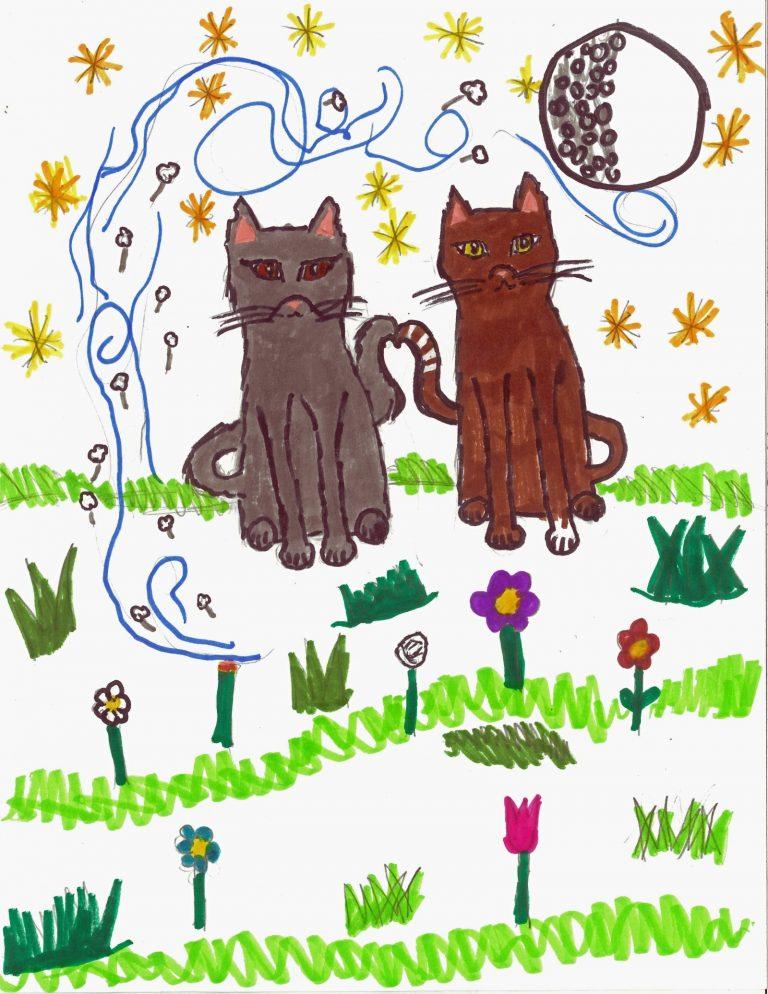 Warrior Cats-Yellow Fang Ragged & Star
