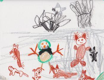 Vasilisa McCutchan, Age 6, Snow Friends