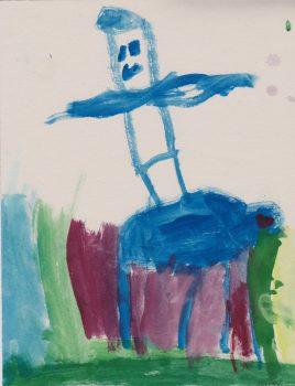 Julian Nussbaum, Age 6, Jack and Annie