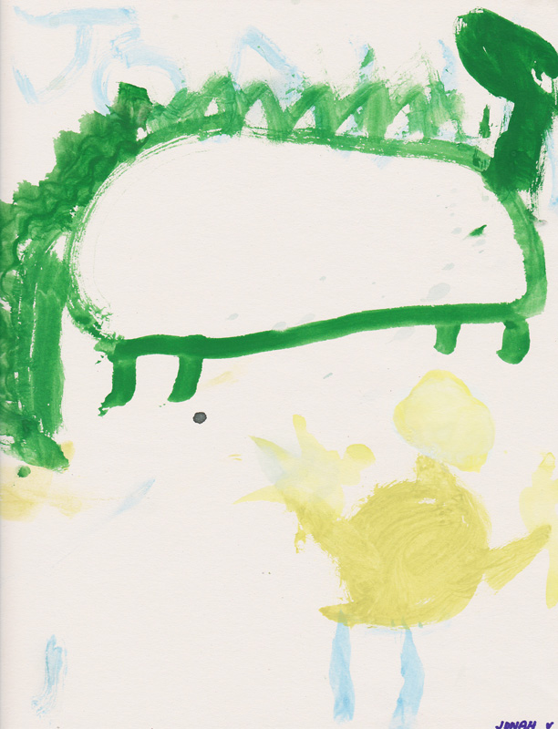 Jonah Veerkamp, Age 6, Puff the Magic Dragon