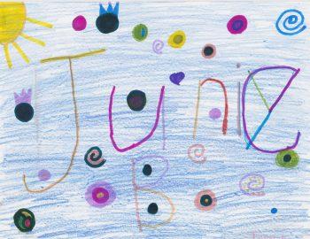 Tallullah Grantham, Age 7, Junie B. Jones