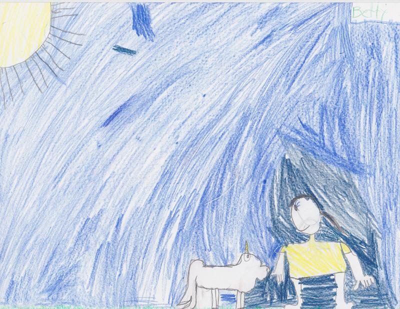 Betty Miles, Age 7, Secret Unicorn