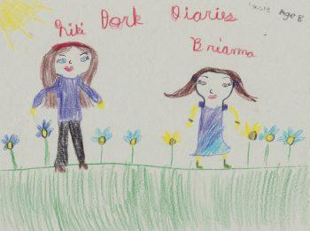 Lucie Bertrand, Age 8, Dork Diaries