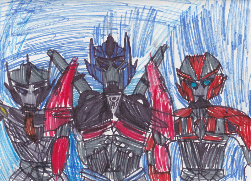 Thomas Hoffman, Age 8, I can Read Transformers: Optimus Prime #1