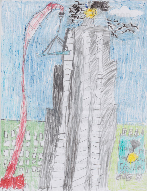 Manuel Soria, Age 8, James and the Giant Peach