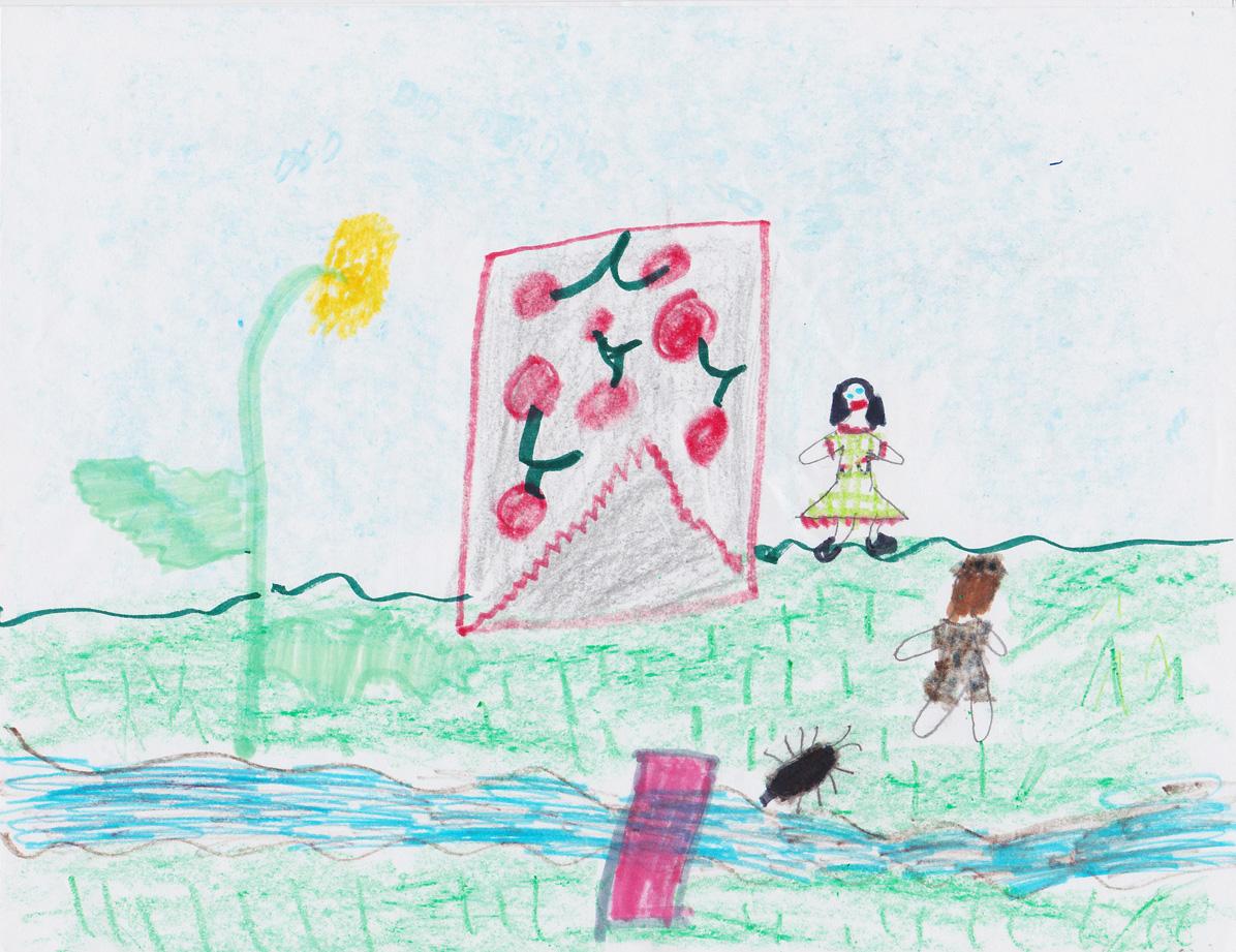 Siri Caruso, Age 9, Twig