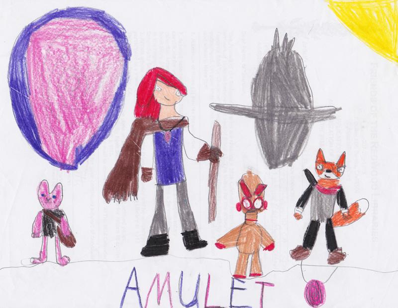 Bethany Smith, Age 9, Amulet