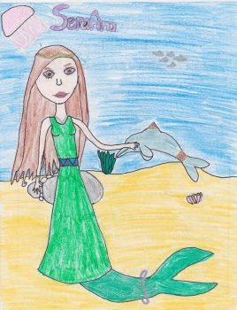 Sarah Curtis, Age 10, Deep Blue