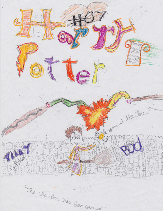 Lucy Clark, Age 10, Harry Potter