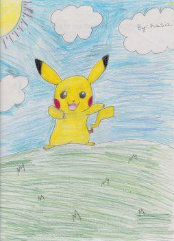 Kasia Manchester, Age 10, Pokemon