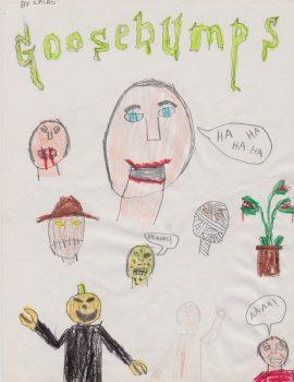 Cairo Boesch Henderson, Age 11, Goosebumps