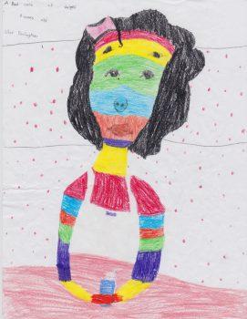 Silas Darlington Age 8, The Bad Case of Stripes