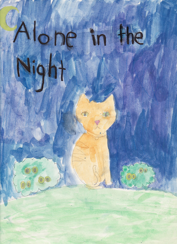 Violet Cook Age 8, Alone in the Night