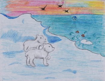 Amaya Mendle-Nickle Age 12, Just One More Swim